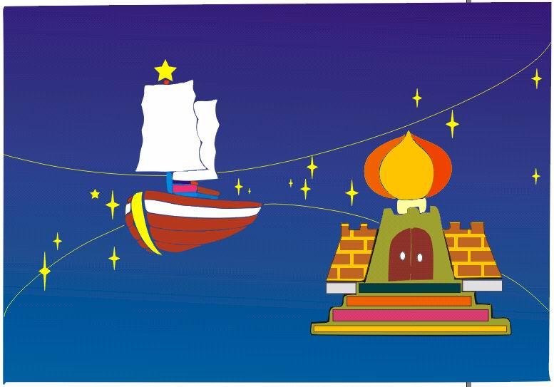 船的卡通画图片